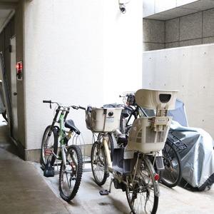 グランドメゾン三田の駐輪場