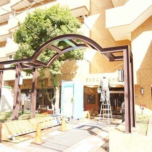 ダイアパレス幡ヶ谷第2のマンションの入口・エントランス