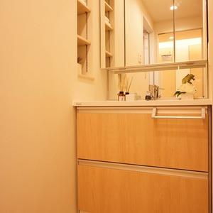 ダイアパレス幡ヶ谷第2(5階,3680万円)の化粧室・脱衣所・洗面室