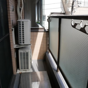 クレアメゾン天神橋(3階,3190万円)のバルコニー