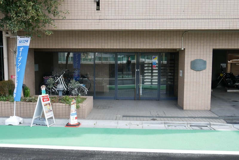 クレアメゾン天神橋のマンションの入口・エントランス1枚目