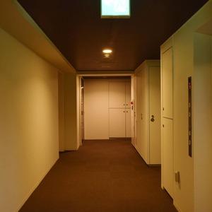ザパークハウス代官山(2階,1億900万円)のフロア廊下(エレベーター降りてからお部屋まで)