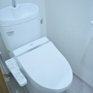 マンション第2恵比須苑(4階,5380万円)のトイレ
