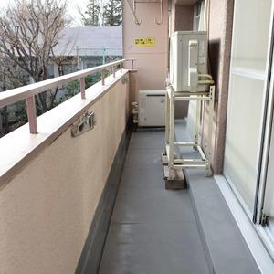 マンション第2恵比須苑(4階,5380万円)のバルコニー