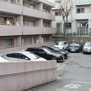 マンション第2恵比須苑の駐車場