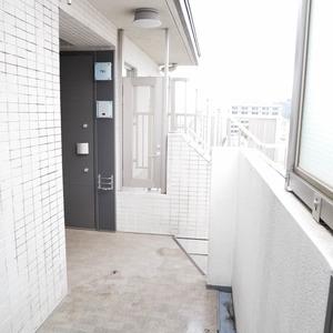 イデアル世田谷千歳台(7階,4390万円)のフロア廊下(エレベーター降りてからお部屋まで)