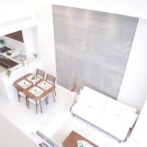 イデアル世田谷千歳台(7階,4390万円)の居間(リビング・ダイニング・キッチン)