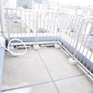イデアル世田谷千歳台(7階,4390万円)のルーフバルコニー