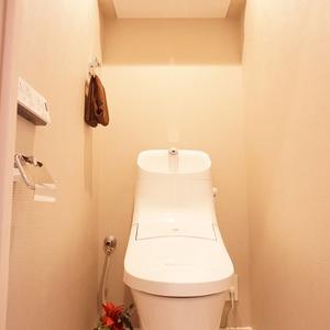 ライベストコート幡ヶ谷(3階,)のトイレ