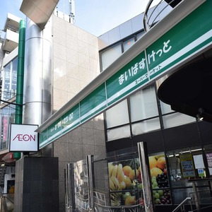 シャンボール原宿の周辺の食品スーパー、コンビニなどのお買い物