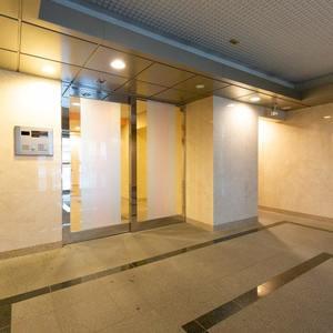 浅草橋アムフラット2のマンションの入口・エントランス