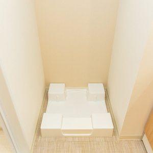 浅草橋アムフラット2(3階,4580万円)の化粧室・脱衣所・洗面室