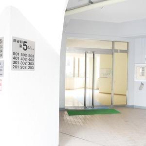 四谷軒第5経堂シティコーポのマンションの入口・エントランス