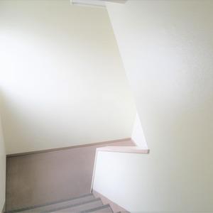四谷軒第5経堂シティコーポ(4階,3499万円)のフロア廊下(エレベーター降りてからお部屋まで)
