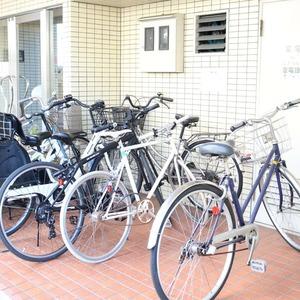 上野の森リリエンハイムの駐輪場