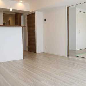 上野の森リリエンハイム(5階,4999万円)の居間(リビング・ダイニング・キッチン)