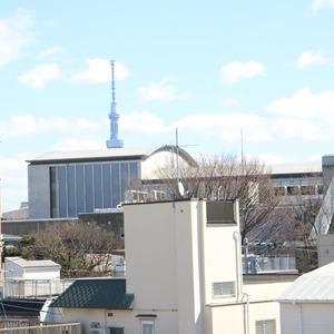 上野の森リリエンハイム(5階,4699万円)のお部屋からの眺望