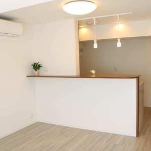 上野の森リリエンハイム(5階,4699万円)の居間(リビング・ダイニング・キッチン)