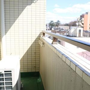 上野の森リリエンハイム(5階,4699万円)のバルコニー