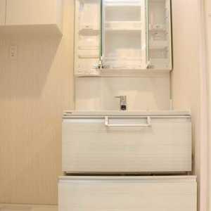 朝日根津マンション(7階,4599万円)の化粧室・脱衣所・洗面室