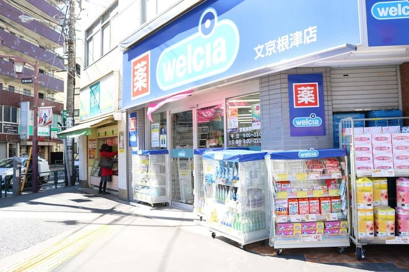 ブリス弥生の周辺の食品スーパー、コンビニなどのお買い物1枚目