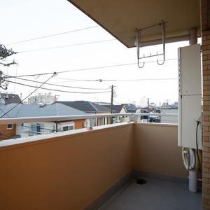 ライオンズマンション東長崎第2(3階,)のバルコニー
