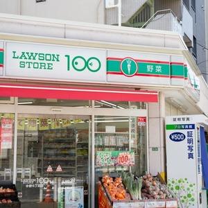 グランヌーブ中野の周辺の食品スーパー、コンビニなどのお買い物