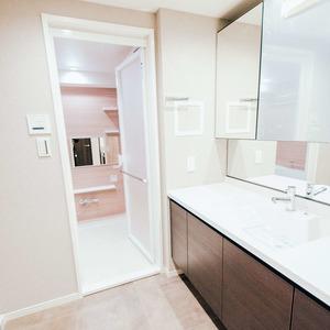 シティハウス駒込(3階,6680万円)の化粧室・脱衣所・洗面室