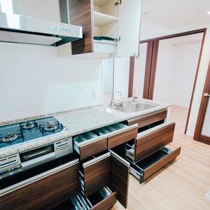 プラウド王子本町(7階,)のキッチン