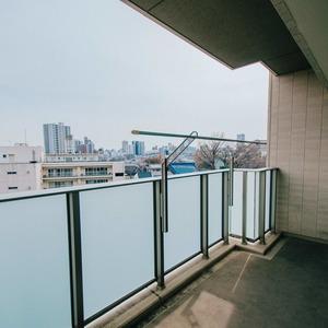 プラウド王子本町(7階,)のバルコニー