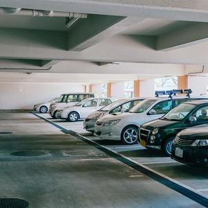 トーア南晴海マンションの駐車場