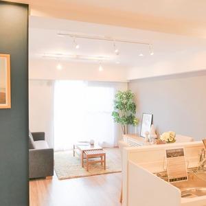 トーア南晴海マンション(3階,3590万円)の居間(リビング・ダイニング・キッチン)