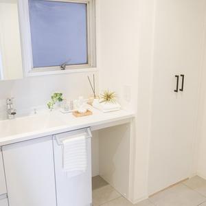 トーア南晴海マンション(3階,3590万円)の化粧室・脱衣所・洗面室