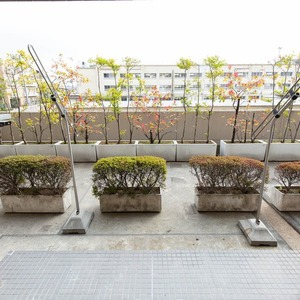 グランヌーブ中野(2階,6480万円)のバルコニー