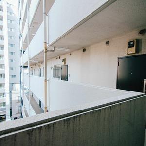 ハイマート入谷(6階,)のフロア廊下(エレベーター降りてからお部屋まで)