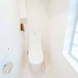 ハイマート入谷(6階,)のトイレ