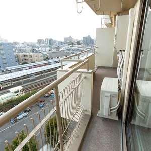 豊島ハイツ(6階,4099万円)のバルコニー