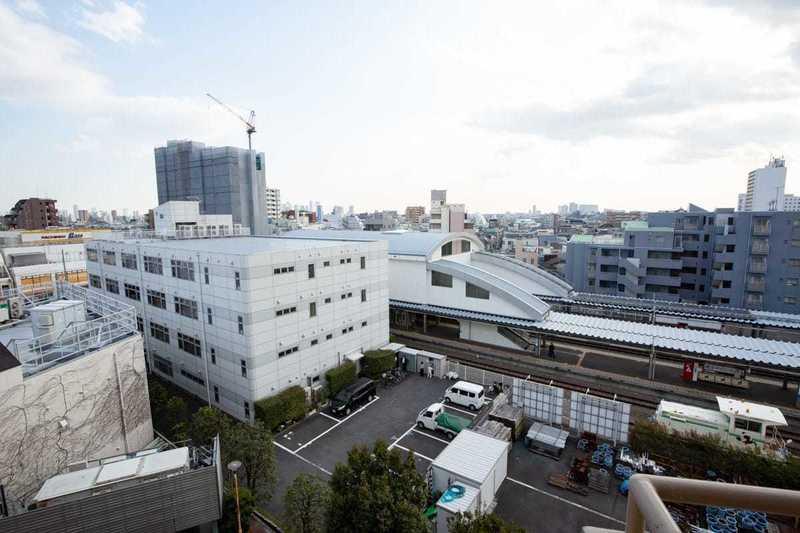 豊島ハイツのお部屋からの眺望1枚目