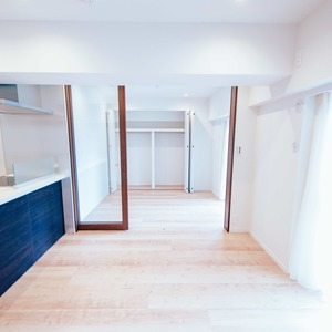 イトーピア六本木(5階,6780万円)の居間(リビング・ダイニング・キッチン)