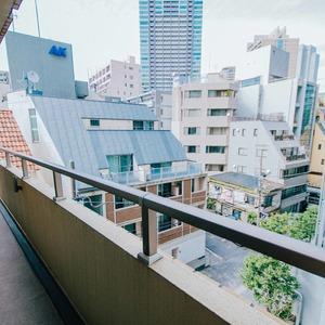 イトーピア六本木(5階,6780万円)のバルコニー