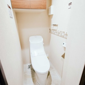 ドミ麻布(5階,)のトイレ
