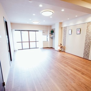 ドミ麻布(5階,8480万円)の居間(リビング・ダイニング・キッチン)