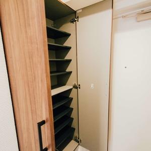 ライオンズシティ浅草(9階,4380万円)のシューズインクローゼット