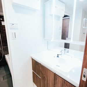 ライオンズシティ浅草(9階,4380万円)の化粧室・脱衣所・洗面室