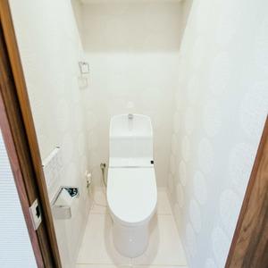 ライオンズシティ浅草(9階,4380万円)のトイレ
