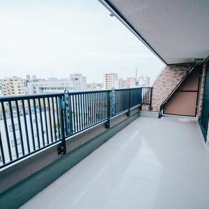ライオンズシティ浅草(9階,4380万円)のバルコニー