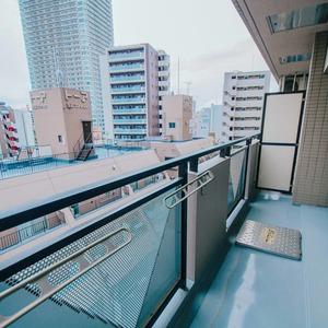 アーバンスクエア浅草(8階,4780万円)のバルコニー