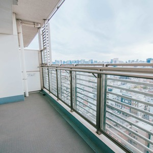 浅草タワー(14階,)のバルコニー