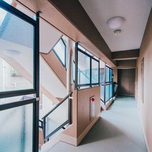ダイアパレス西浅草グランマジェスト(4階,)のフロア廊下(エレベーター降りてからお部屋まで)