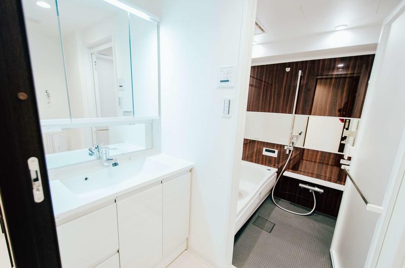 ダイアパレス西浅草グランマジェストの化粧室・脱衣所・洗面室1枚目